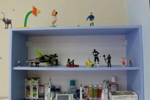 играчки в детския зъболекарски кабинет
